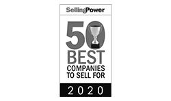 2020 Selling Power award 50 Best Companies to Sell For