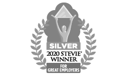 2020 Silver Stevie Award for Best Employer