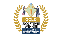 Gold Award for Sales and Customer Service