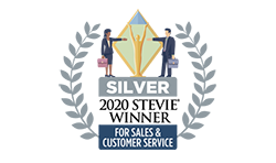 Silver Award for Sales and Customer Service