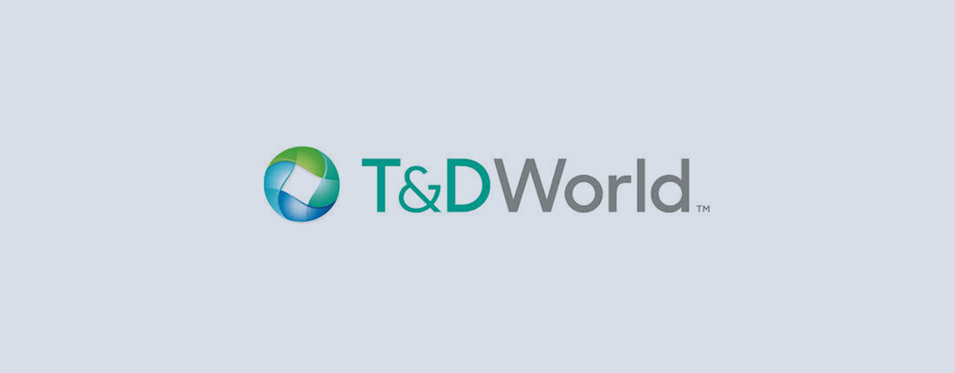 T and D World logo
