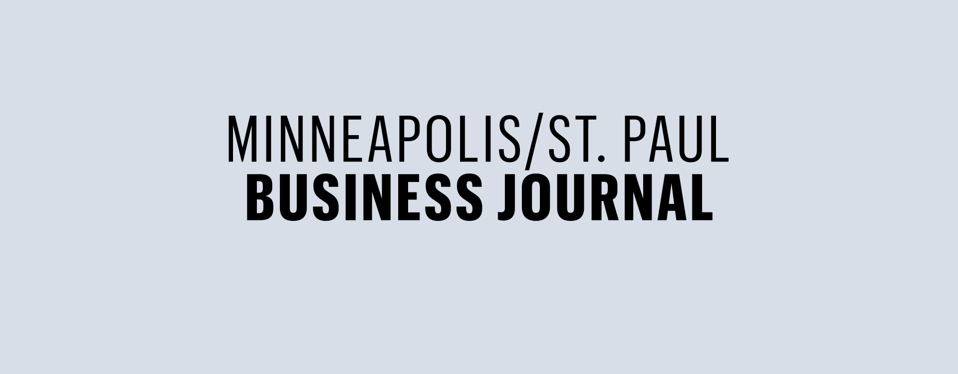 Minneapolis St Paul Business Journal logo