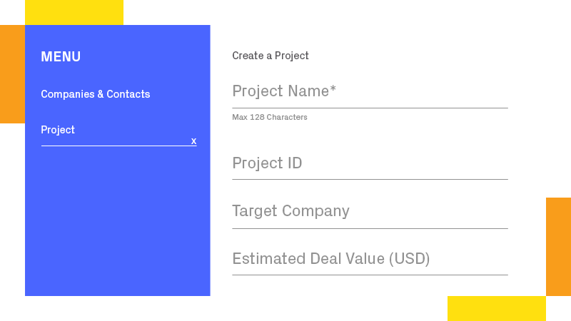 Create a Project Fast