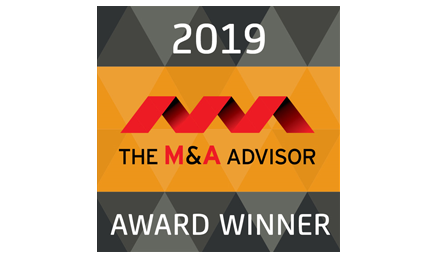 M&A Advisor Award Winner
