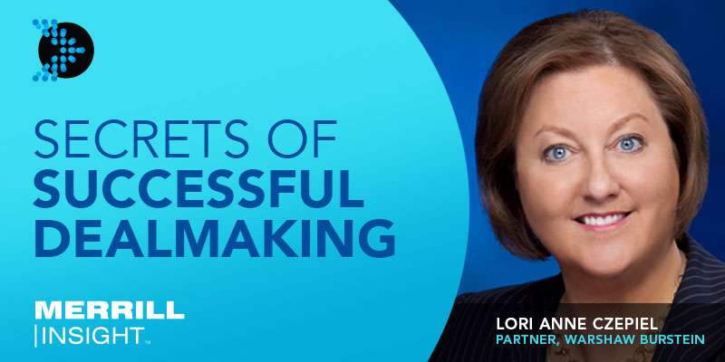 Lori Anne Czepiel secrets of successful dealmaking banner