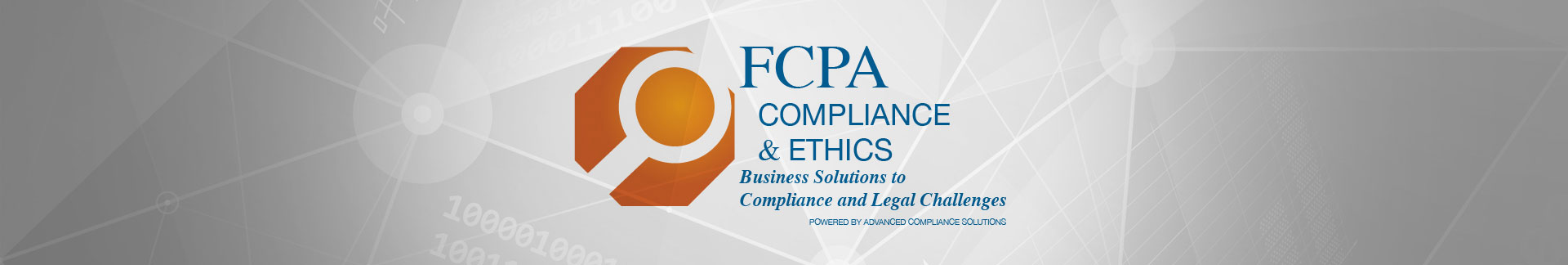 FCPA Compliance and Ethics news banner