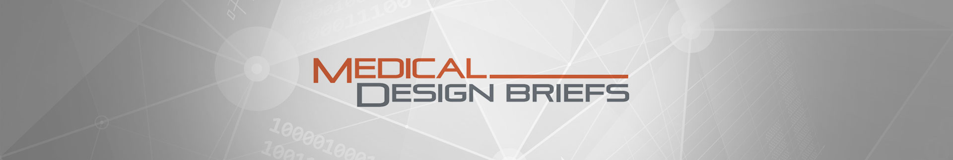 Medical Design Briefs news banner