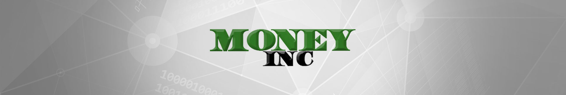 Money Inc news banner