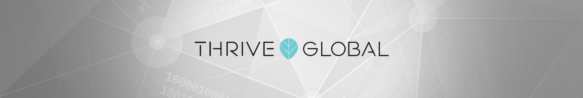 Thrive Global news banner