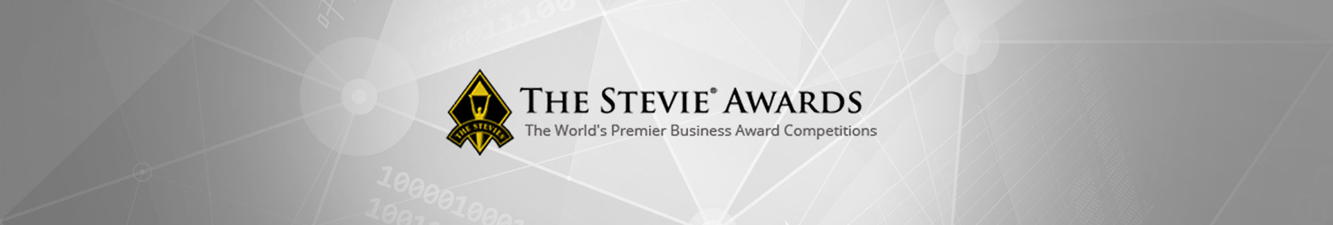 The Stevie Awards news banner